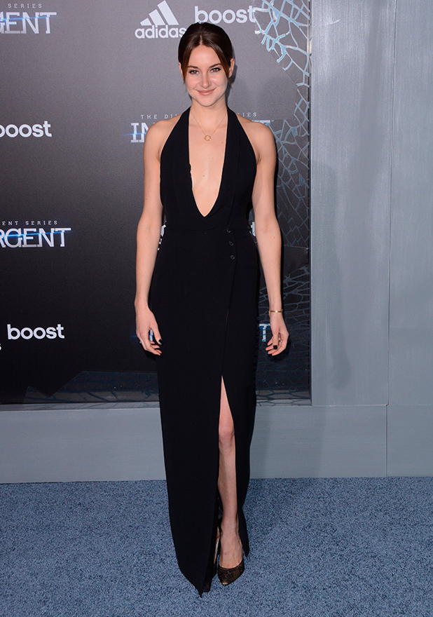 Shailene Woodley, New York premiere of 'The Divergent Series: Insurgent' at Ziegfeld Theater 16 Mar 2015