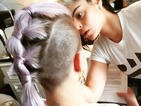 Kelly Osbourne works 3 different hairstyles – proving mohawks rock!