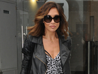 Myleene Klass sasses up her day with fabulous leopard print jumpsuit