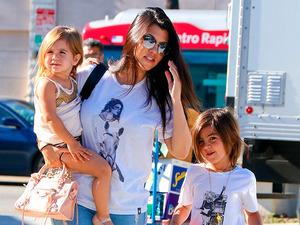 Kourtney Kardashian wears T-shirt with Kendall Jenner's picture on it
