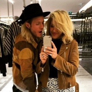 Ellie Goulding and Dougie Poynter, Instagram 20 March