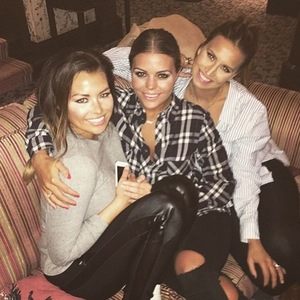 Jessica Wright, Ferne McCann, Chloe Lewis in Wales for TOWIE filming, Instagram 23 March