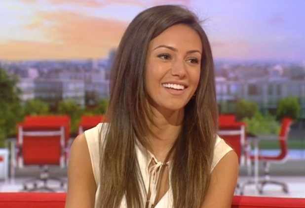 Michelle Keegan appears on BBC Breakfast, BBC One 23 March
