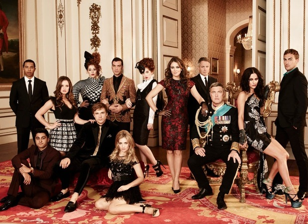 New E show The Royals, starring Liz Hurley