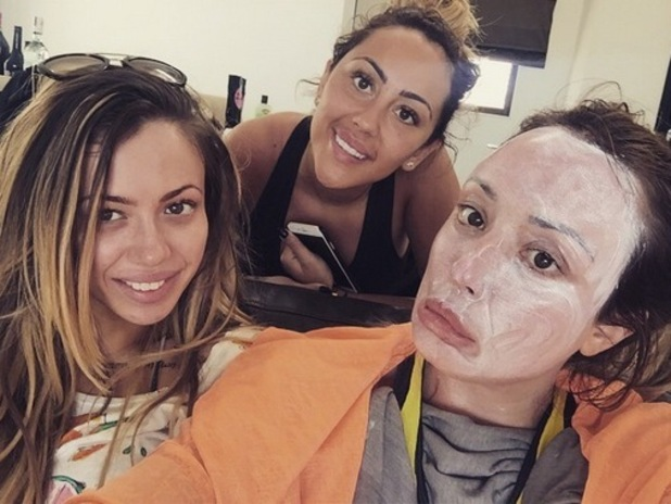 Charlotte Crosby, Holly Hagan and Sophie Kasaei holiday together, Instagram 25 March