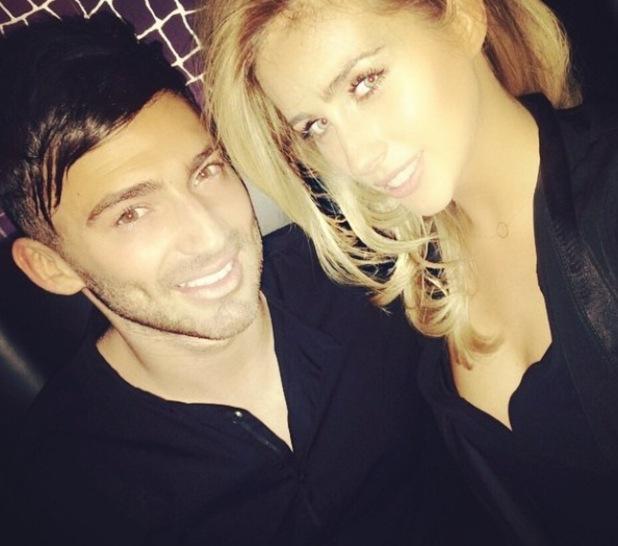 Jake Quickenden and girlfriend Danielle Fogarty - Instagram picture - 22/03/15
