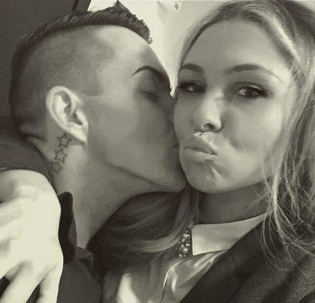 Bobby Norris kisses Fran Parman in new selfie, Instagram 24 March