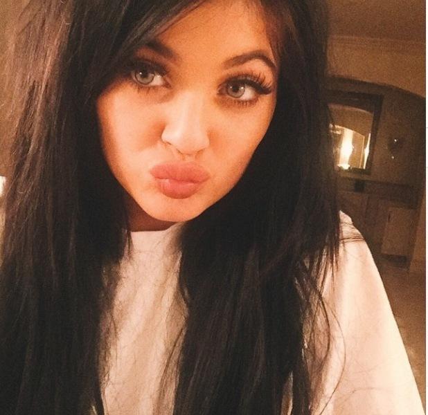 Kylie Jenner selfie, 21/3/15