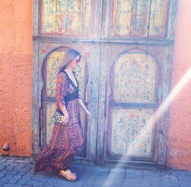 Millie Mackintosh in Marrakech,27/3/15