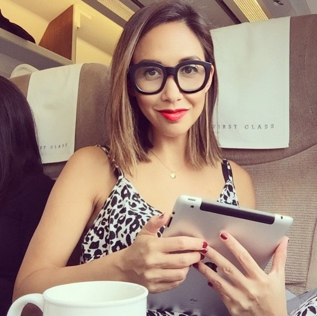 Myleene Klass shows off new bob cut on Instagram 25 March