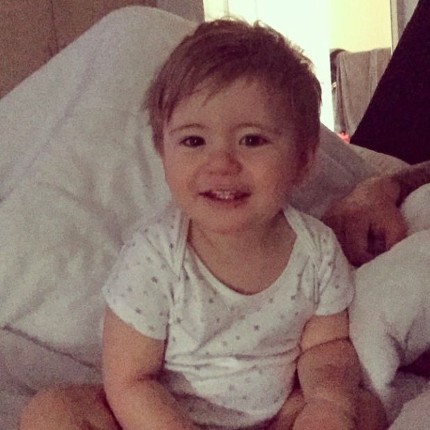 TOWIE's Dan Osborne shares cute picture of son Teddy, 27 March 2015