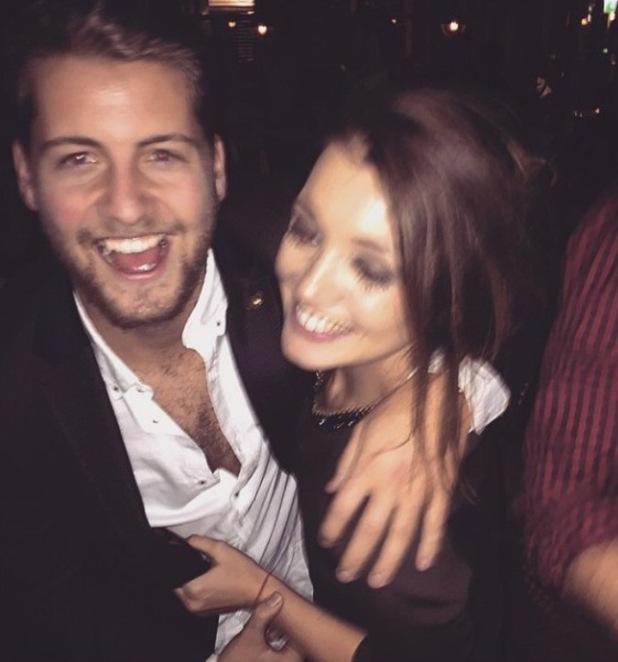 MIC star Stevie Johnson parties with girlfriend Cressida Stewart in London - 21 March 2015.