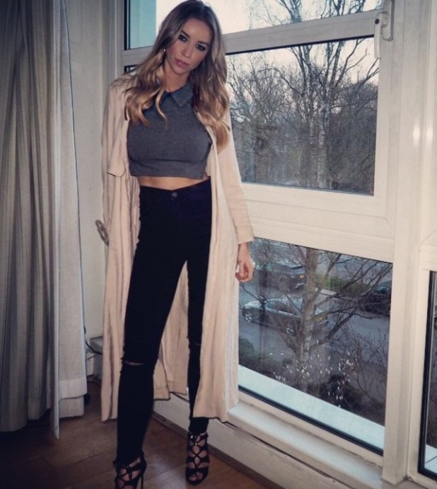 Lauren Pope's outfit, 25/3/15