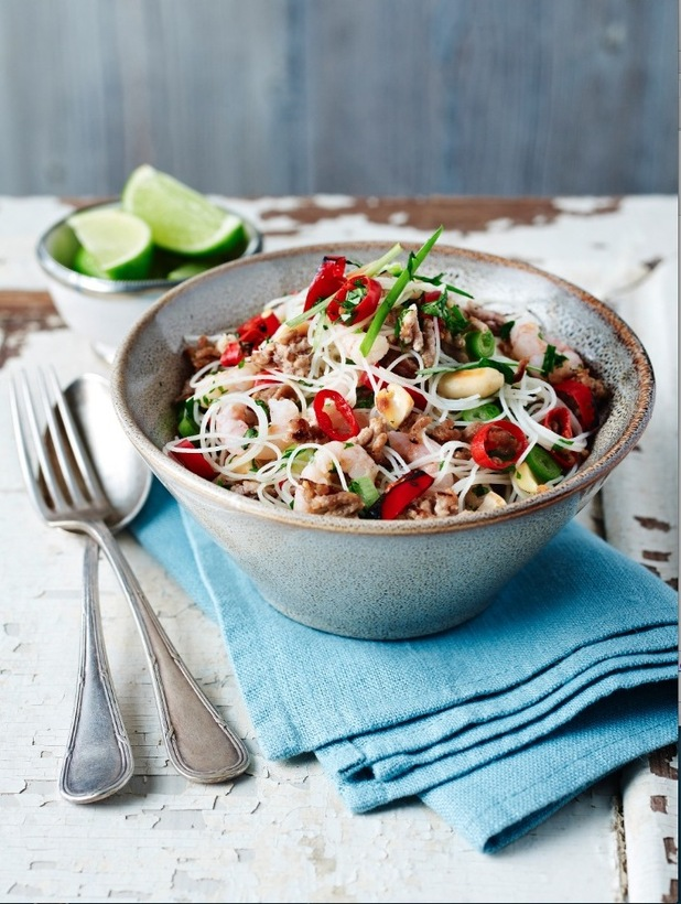 THAI pork & noodle salad by very lazy