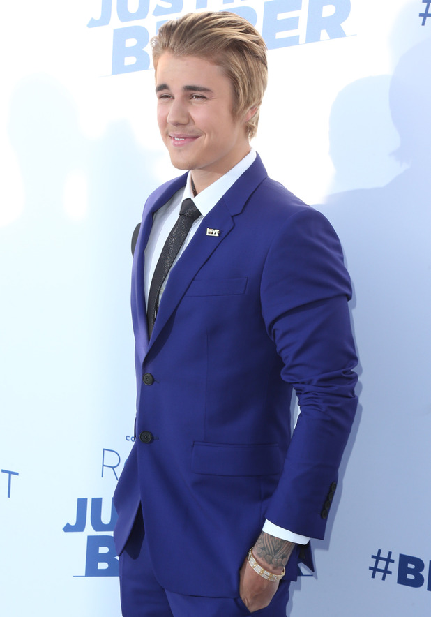 Justin Bieber at the Comedy Central - Roast of Justin Bieber - Arrivals. 03/15/2015 Los Angeles, United States