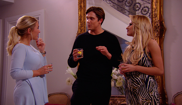 TOWIE episode to air 29 March 2015: Billie with Georgia and Lewis