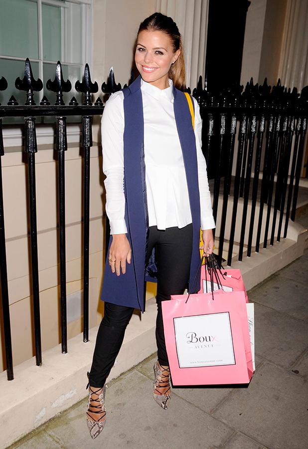 Boux Launch Summer Party, London, Britain - 26 Mar 2015 TOWIE's Chloe Lewis
