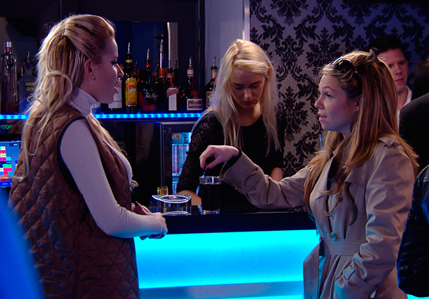 TOWIE episode to air 25 March 2015: Georgia and Fran come face to face