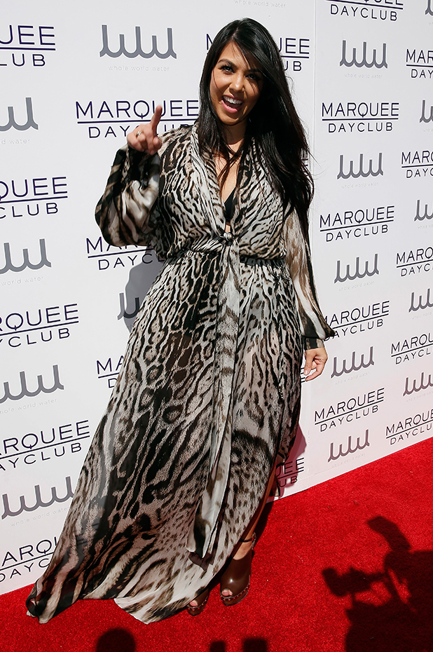 Kourtney Kardashian hosts Marquee Dayclub Season Preview, 21 March 2015