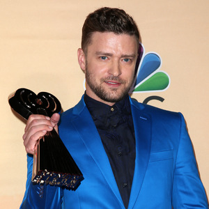 Justin Timberlake at the 2nd Annual iHeartRadio Music Awards - Press Room - 29/3/2015.