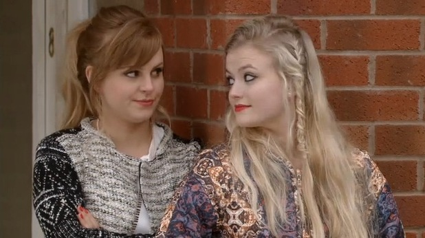 Coronation Street star Tina O'Brien talks about her soap return as Sarah-Louise Platt - 29 March 2015.