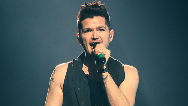 Danny O'Donoghue of The Script perform live in concert during a sold out show at The O2 - 03/13/2015.