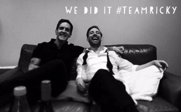 Ricky Wilson shares picture with The Voice winner Stevie McCrorie, 4 April 2015