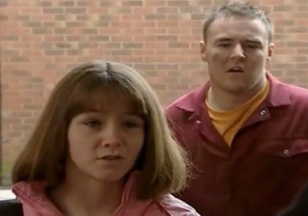 Coronation Street star Brooke Vincent first appearance in the soap - 2004.