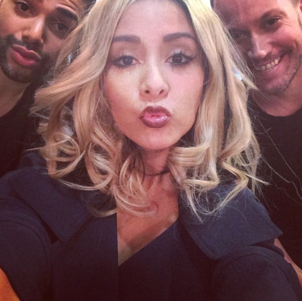 Snooki reveals her new hair - but we think it's a blonde wig for April Fool's Day, 1 April 2015
