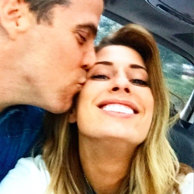 Stacey Solomon and Steve-O look smitten in new photo, 3 April 2015