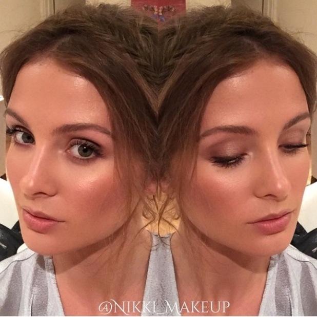 Millie Mackintosh's make-up, 30/3/15