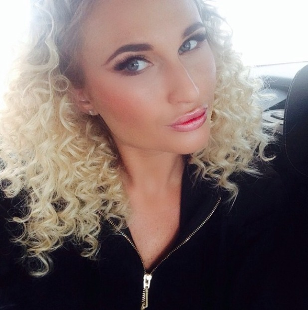 Billie Faiers rocks super-curly hair for TOWIE Mad Hatters Tea Party, by Mark Hayhurst, 1 April 2015