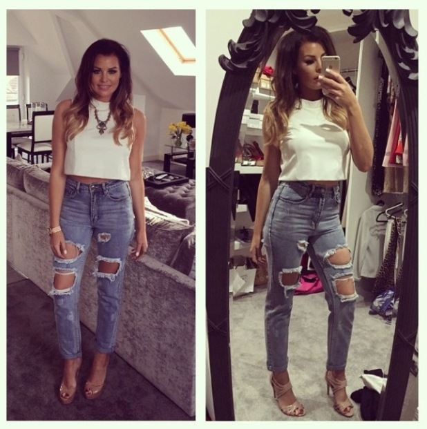 Jess Wright's outfit from Instagram, 29/3/15