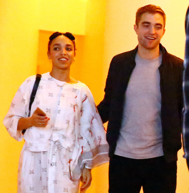 FKA Twigs and Robert Pattinson attend a Surface Magazine Event With Hans Ulrich Obrist And FKA Twigs at Edition Hotel on December 4, 2014 in Miami, Florida.