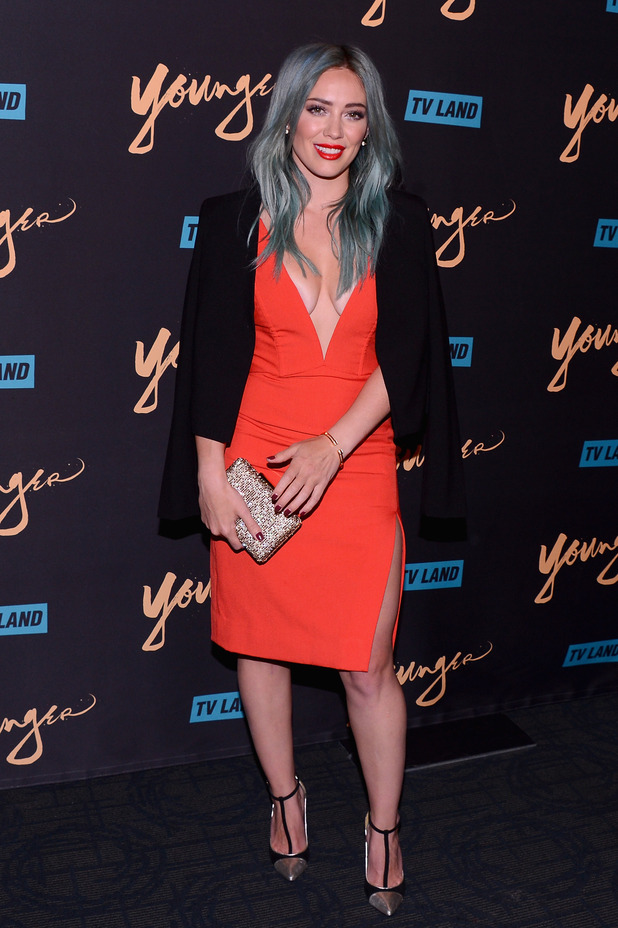Hilary Duff at 'Younger' premiere (31 March)