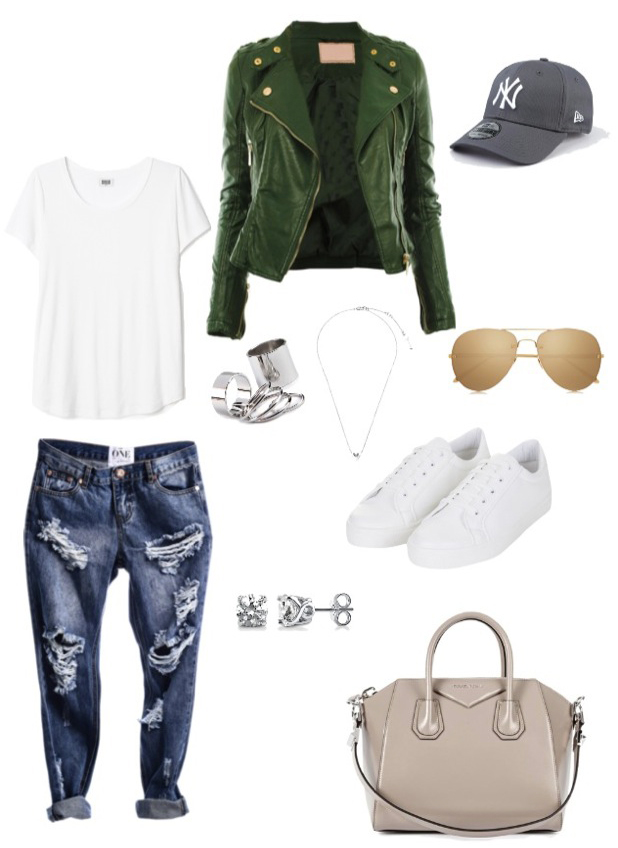 """Brooke Vincent inspiration board for a """"Brooke"""" outfit, 31 March 2015"""
