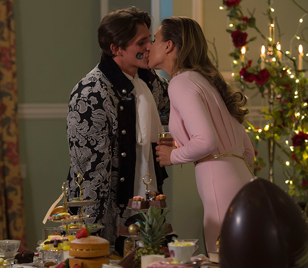The Only Way is Essex' cast filming, Britain - 01 Apr 2015 Jake and Chloe L meet to discuss how to move forward in their relationship.