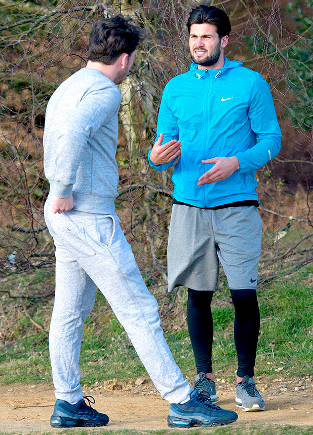 Dan Edgar and James Bennewith take a walk to discuss Dan's relations with Jess. 27 Mar 2015