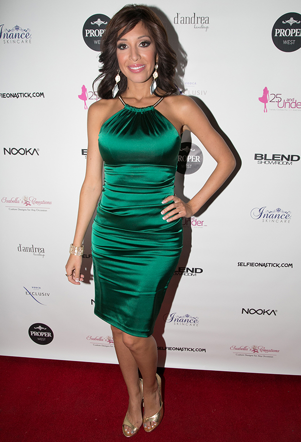 Farrah Abraham attends 'Blood Sweat & Heels' Season 2 Premiere Party at Proper West on March 29, 2015 in New York City.