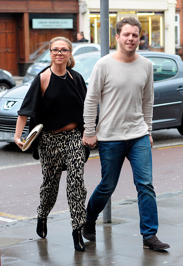 'The Only Way is Essex' cast, out and about, Essex, Britain - 29 Mar 2015 Francesca Parman and Diags