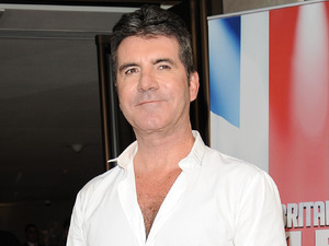 Simon Cowell arrives at The BGT Launch at The Mayfair Hotel - 9 April 2015.