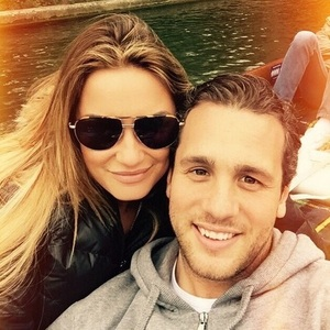 Sam Faiers and boyfriend Paul Day in Cambridge, Instagram 6 April