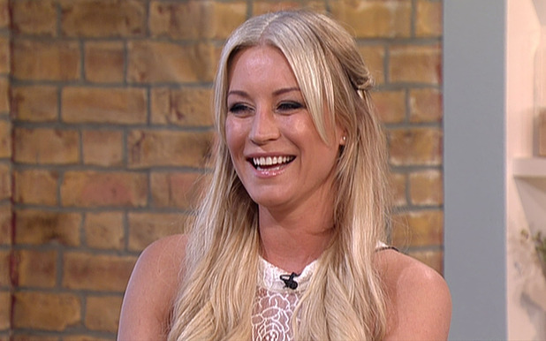 Denise Van Outen discusses her role in BBC soap opera 'EastEnders', on 'This Morning'. Broadcast on ITV1 HD - 04/09/2015.