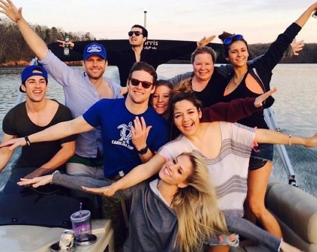Nina Dobrev announces her Vampire Diaries exit, Georgia 6 April