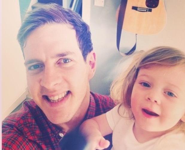 The Voice 2015 winner Stevie McCrorie and daughter Bibi