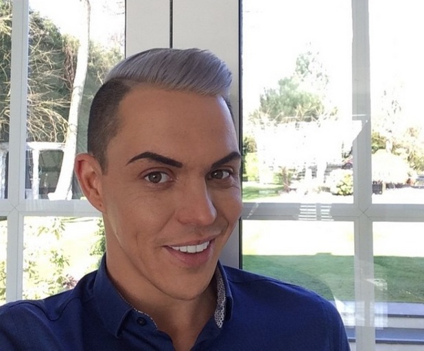 Bobby Norris shows off silver hair, Instagram 7 April