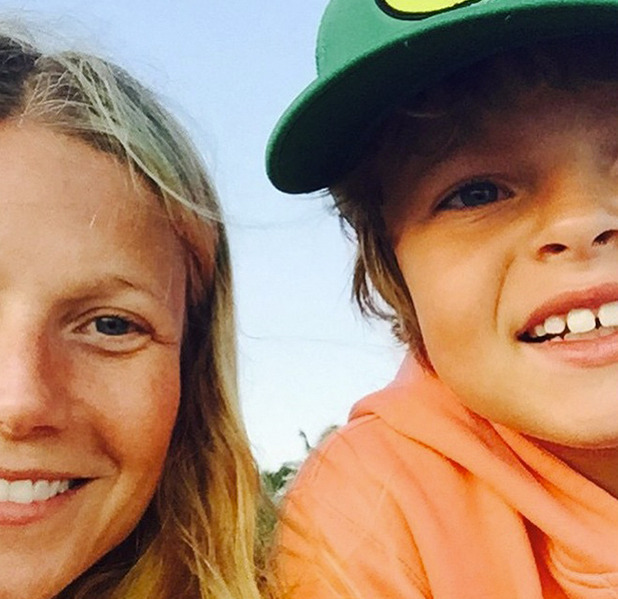 Gwyneth Paltrow shares photo of kid Moses on 9th birthday, April 2015