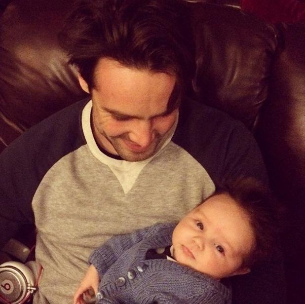 Ben Foden reunites with son Tadhg in Ireland, Instagram 4 April
