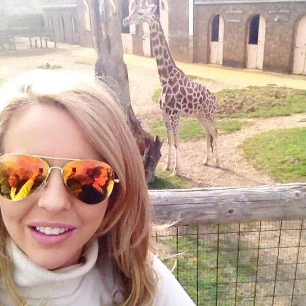 TOWIE star Lydia Bright enjoys zoo date with boyfriend James 'Arg' Argent, 10 April 2015