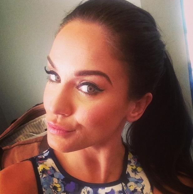 Vicky Pattison takes a selfie, Instagram 5 April